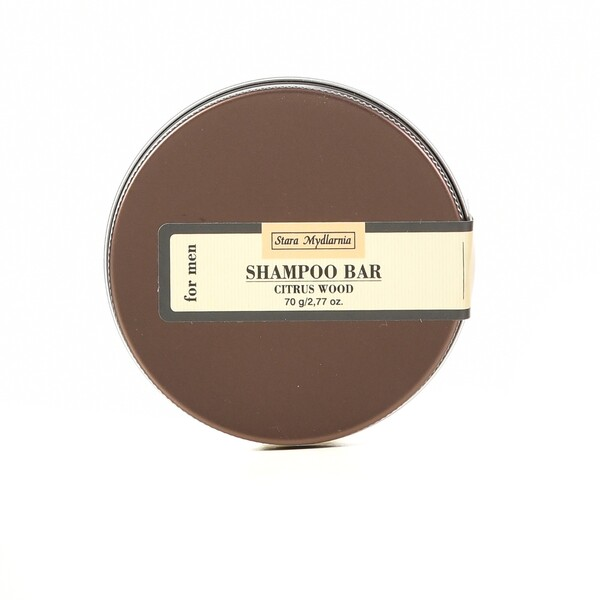 CITRUS WOOD SHAMPOO BAR WITH CONDITIONER 2 IN 1