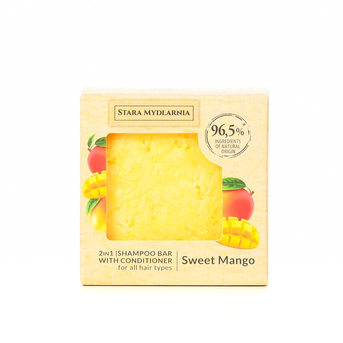 MANGO 2 IN 1 SAMPOO BAR WITH CONDITIONER